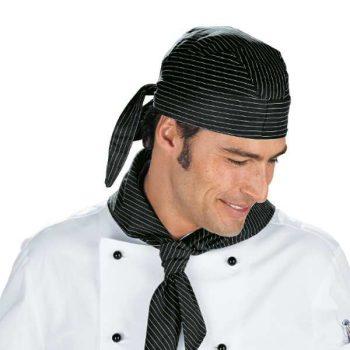 Bandana Chef a righe